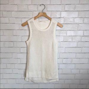Athleta Sleeveless Knit Sweater